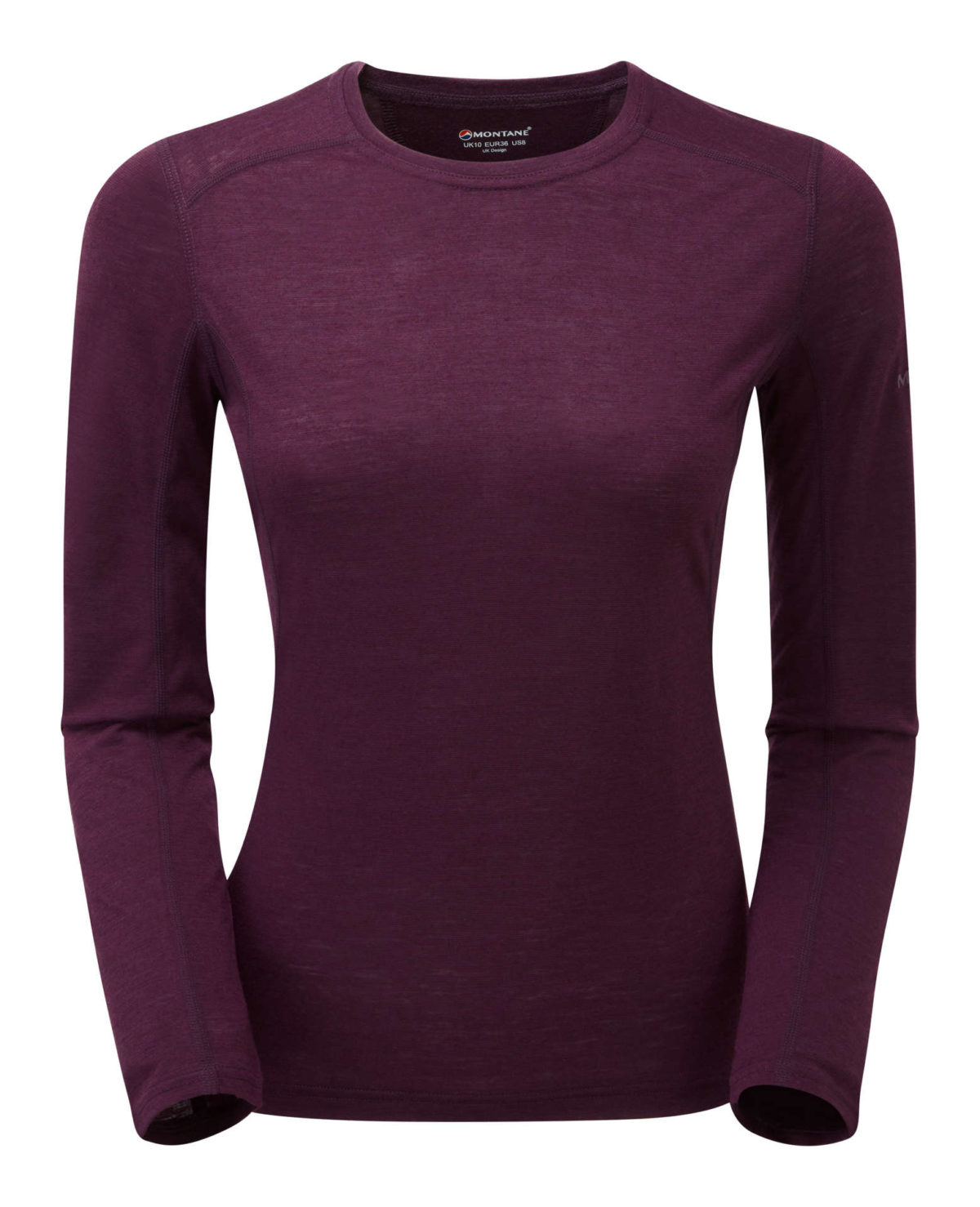 Montane Womens Phoenix Jacket Top Long Sleeve Casual Clothing Purple